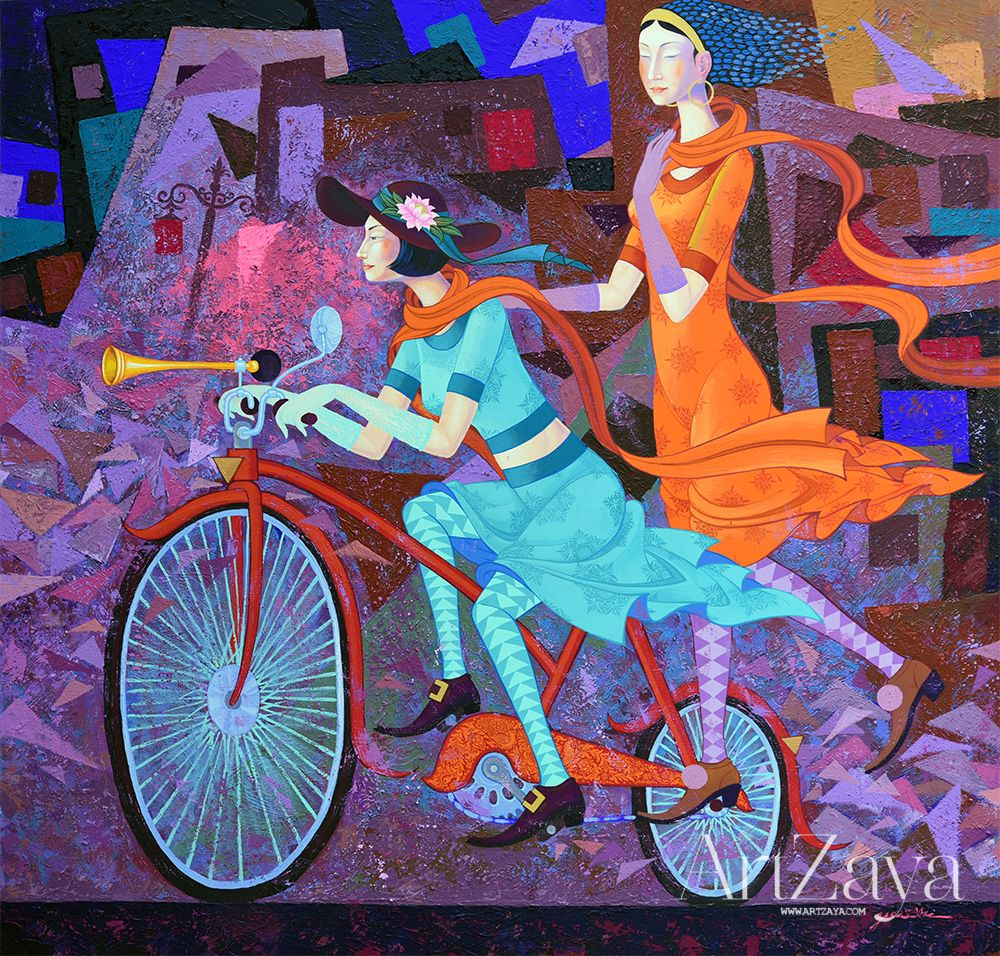 Cycle girls