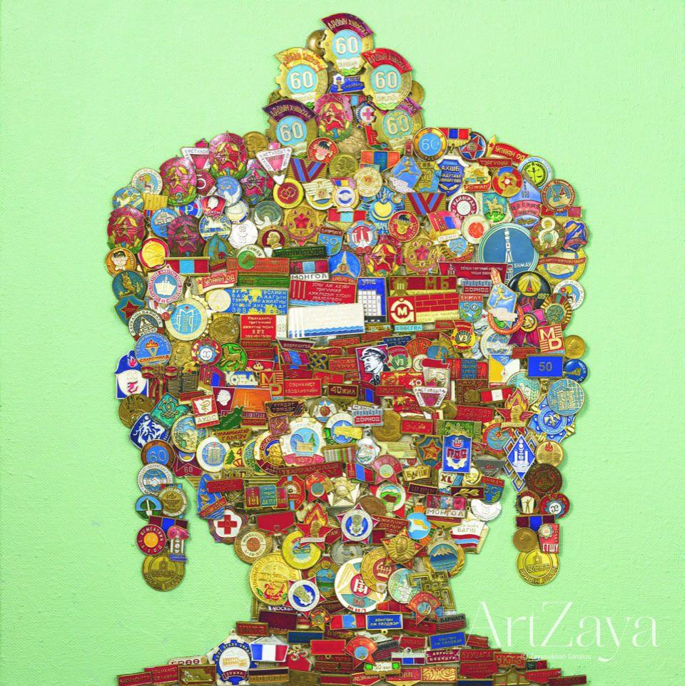 Buddha Portrait III