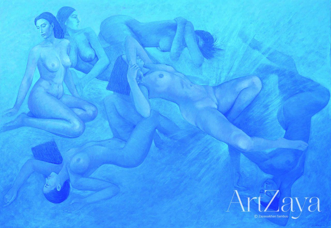 Six Nudes